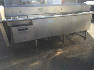 Used Hobart Turbowash Powered Sink TW//  Made in USA Excellent Quality!