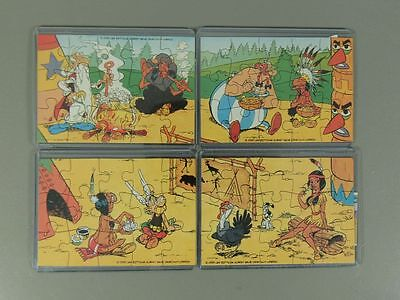PUZZLE: Asterix in Amerika - Superpuzzle + alle 4 BPZ (Herkunft nicht Ferrero)
