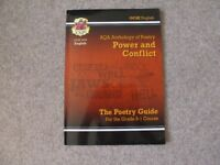 CGP NEW GCSE English Literature Poetry Anthology, Power and Conflict Revision Guide