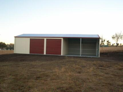 GARAGE 15X7X2.7 SHED COLORBOND SHEDS GARAGE SHEDS SUNSHINE COAST