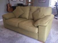 2 Seater Sofa - House of Fraser - Green