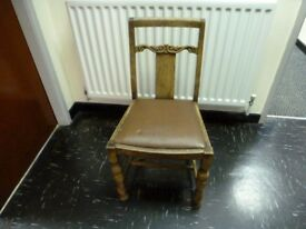 Chair for a shabby chic creation perhaps ?