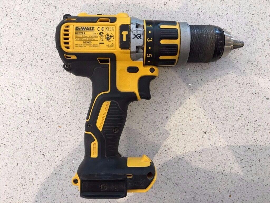 Dewalt DCD795N 18V XR Brushless Hammer Drill DCD795 Naked