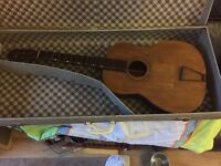 Vintage Guitar -Repair Project Rare came from a house clearance collection from high Wycombe