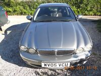 Jaguar X-TYPE, 2ltr Diesel, Manual, FSH In Great condition, leather interior,115K Miles