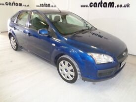2007 Ford Focus 1.8 LX Blue 94k miles FSH 9 Stamps MOT'd 2018 Air Con CD HPi Clear £1395