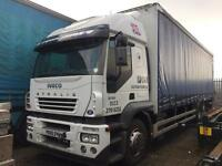 Iveco stralis 26 ton curtain side truck 2005 spares or repairs export