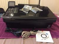 Epson SX515W Colour Ink Jet Printer And Scanner