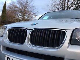 STUNNING BMW X3 Diesel 2.0 M SPORT SEMI-AUTO 4X4 2008 Full Service History Leather heated seats