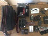 JVC GR-AX7 Handycam (VHS-C Camcorder)