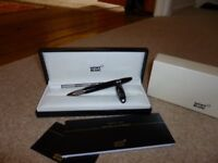 Genuine Montblanc StarWalker Ultimate Carbon Fineliner