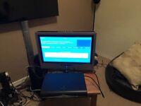 "Sky+HD Box & 20"" Viewsonic HD Ready LCD Monitor"