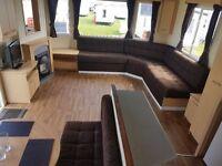😋bargain static caravan for sale on the north east coast-direct beach access-12 month season😋