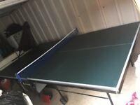 Sponeta table tennis table.
