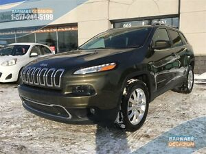 2015 Jeep Cherokee LIMITED - 4x4 104$/semaines *Ensemble de luxe