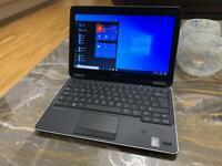 """As new Dell latitude E7240 laptop 12.5"""" intel core i5 4th gen 2.50ghz 8GB RAM 256GB SSD windows 10"""
