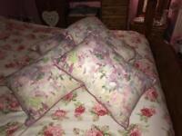Next watercolour cushions