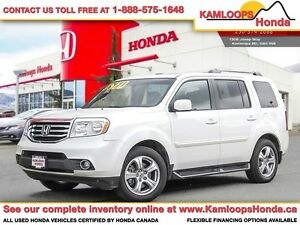 2014 Honda Pilot EX-Leather w/Rear Entertainment System