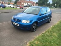 Volkswagen polo 12 months mot tax hpi clear