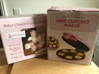 NEVER USED Cupcake Maker & Stand