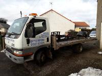 Mitsubishi Canter 3.5 tonne recovery truck - MOT failure, make a great stock car yoke.
