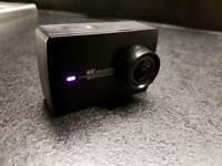 Yi 4k sports action camera + accessories