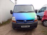 Renault Master SWB Low miles Van, Newly MOT'd & Serviced, Bargain