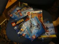 12packs of unopened lego 5-12 yrs