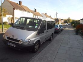 2002 FORD TRANSIT TOURNEO 8 SEATER MINIBUS DRIVES 100% PERFECT