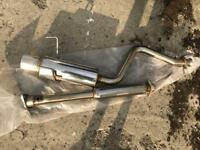 Lexus IS200 exhaust/ stainless steel / cat back