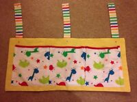 Mothercare animal cot tidy