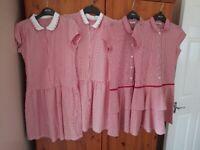 Girls school dresses age 10-11 years