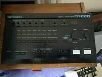 Roland 1980s vintage drum machine retro CR-1000