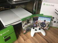 Xbox One Slim plus games