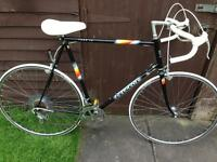 Vintage Peugeot road racing touring bike black - immaculate