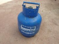 4.5 KG SIZE CALOR GAS BLUE BOTTLE BUTANE. NEARLY FULL CAMPING CARAVAN BARBECUE ?