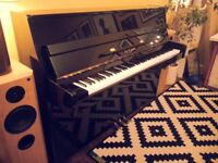 Beautiful Yamaha C110a Black Upright Piano SOLD PENDING COLLECTION