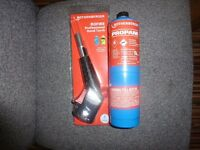 Gas Hand Torch ( ROTHENBERGER ) +full bottle of propane
