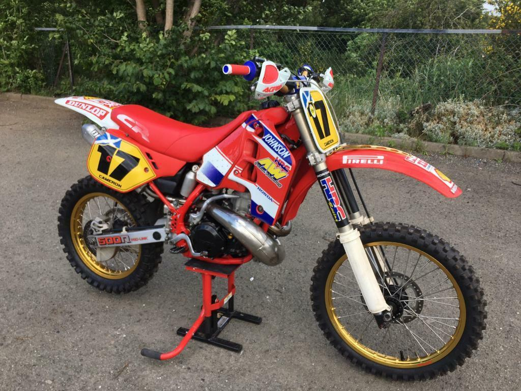 honda cr 500 1989 in cameron toll edinburgh gumtree. Black Bedroom Furniture Sets. Home Design Ideas