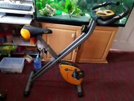 gym bike folding