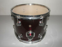 "DRUMS , DDrum 12"" Tom. / Metallic Red."
