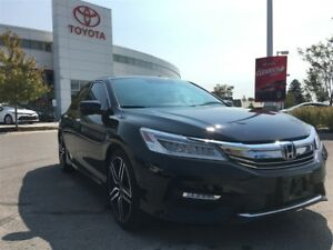 2016 Honda Accord Sedan Touring - Rare V6, 19 Factory Alloys - W