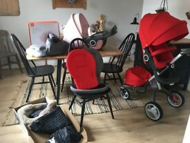 Stokke Xplory pram huge bundle, lots of extras and two seat units