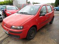 fiat punto good driving car no mot needs welding 2003