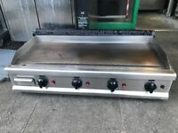 CATERING COMMERCIAL KITCHEN GAS FLAT GRILL CAFE KEBAB CHICKEN FAST FOOD RESTAURANT SHOP BBQ
