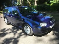 VOLKSWAGEN VW GOLF SE 1.9 TDI AUTOMATIC ESTATE EDITION, ONE OWNER, 12 MONTH MOT, LOVELY CONDITION