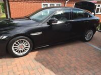 """JAGUAR 17"""" WHEELS AND TYRES. 205/55/17. COVERED LESS THAN 3500 MILES. AS NEW UNMARKED."""