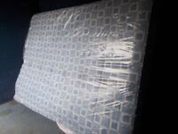 A UNUSED DOUBLE MATTRESS IN WRAPPER