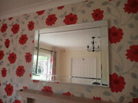 Stunning Contemporary John Lewis Mirror Large cost £250 M6 M65 M61