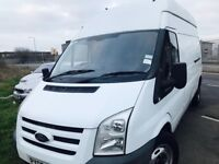 2008 hi top lwb ford transit tax and mot